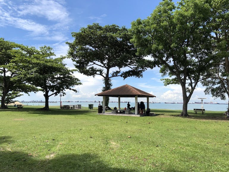 Scenic views at East Coast Park