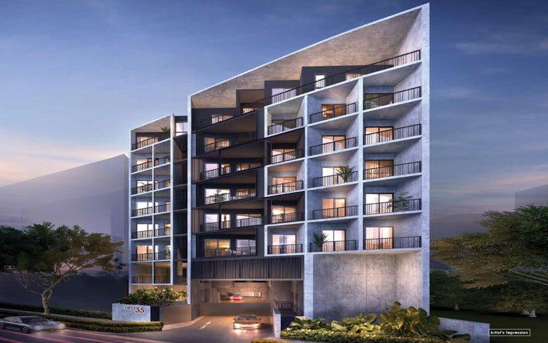 Rezi 35 is a freehold midrise condominium in Lorong 35 Geylang