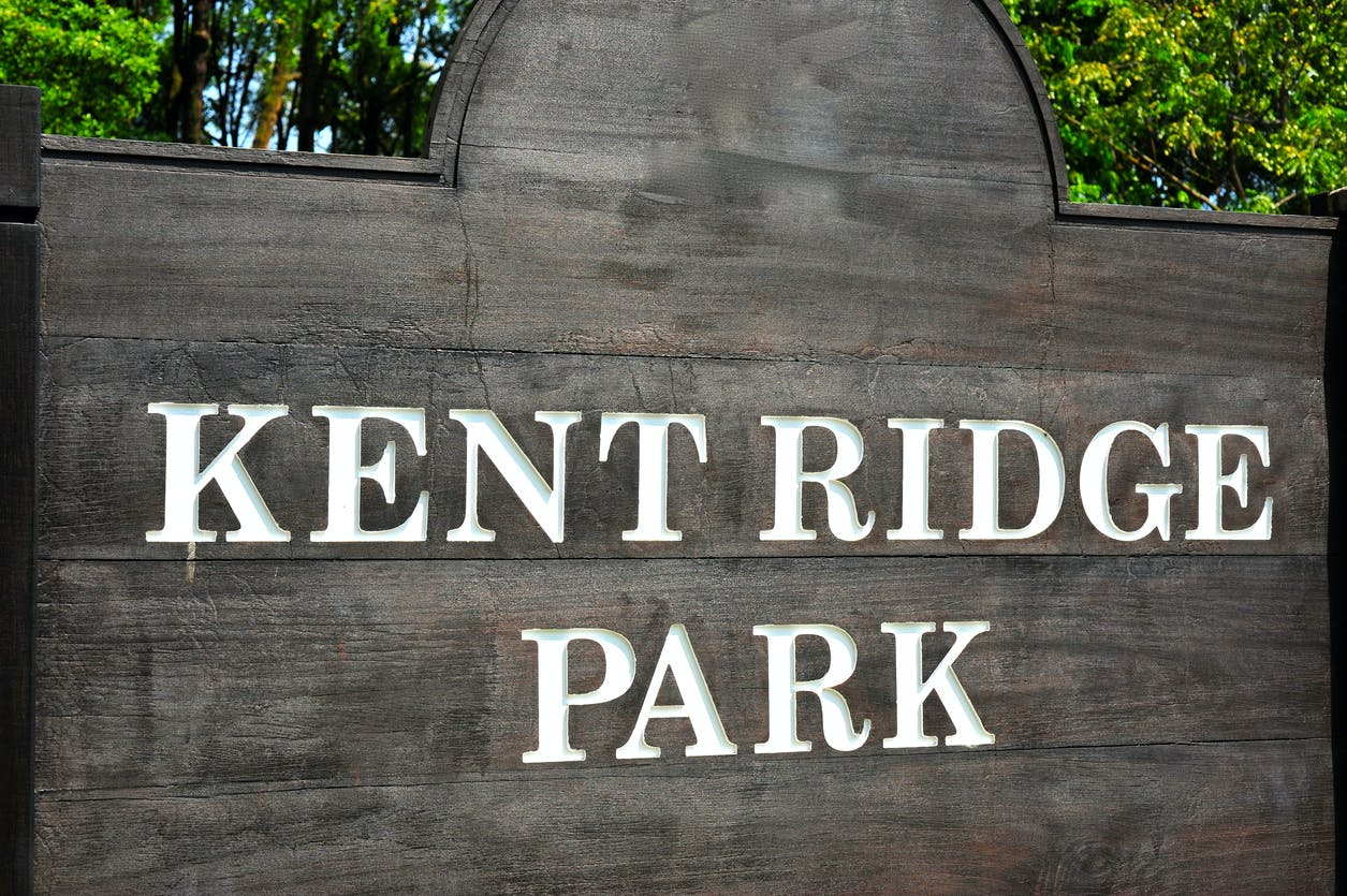 Exclusive residents-only access to Kent Ridge Park