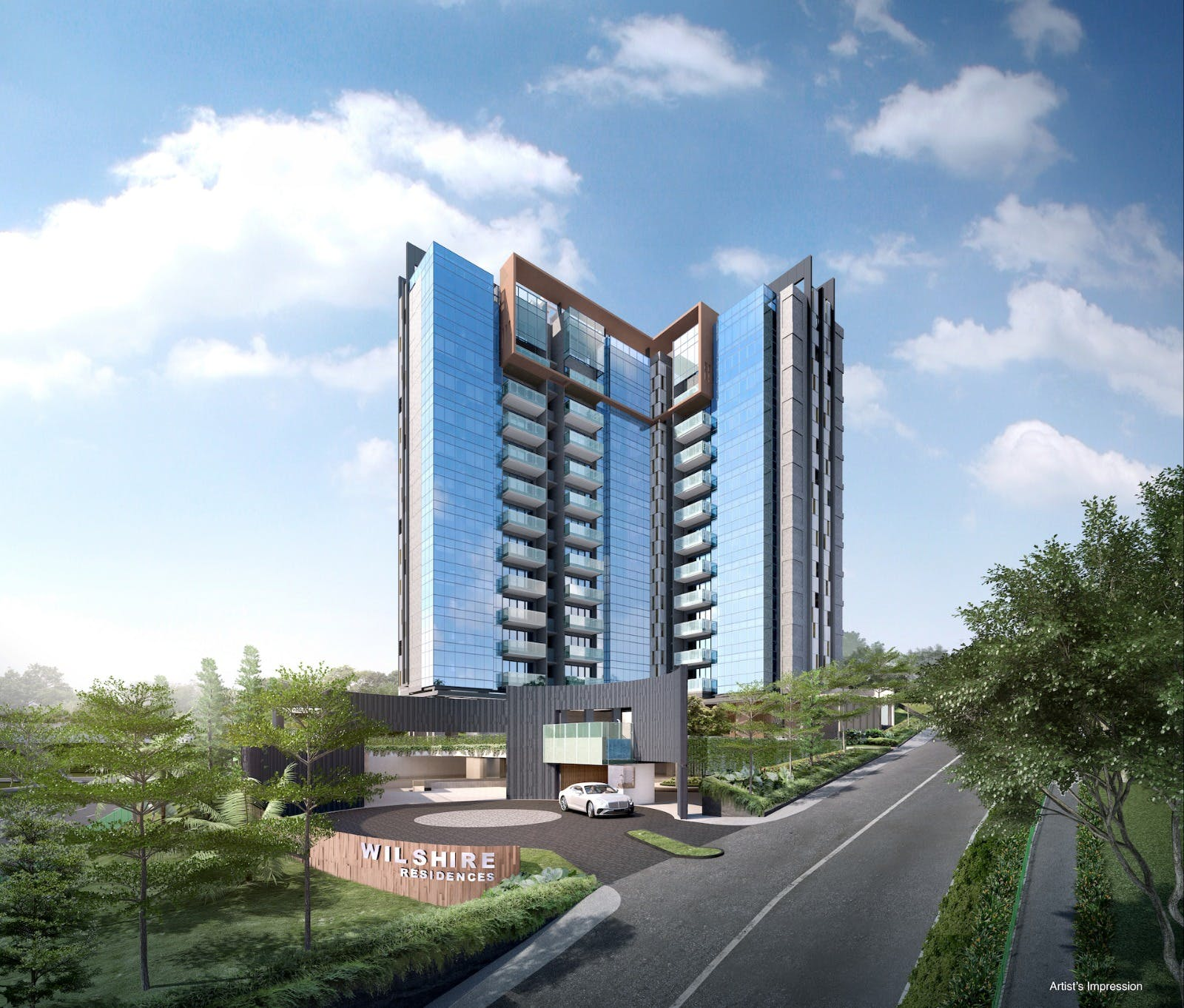 Wilshire Residences by Roxy-Pacific Holdings and Tong Eng Group