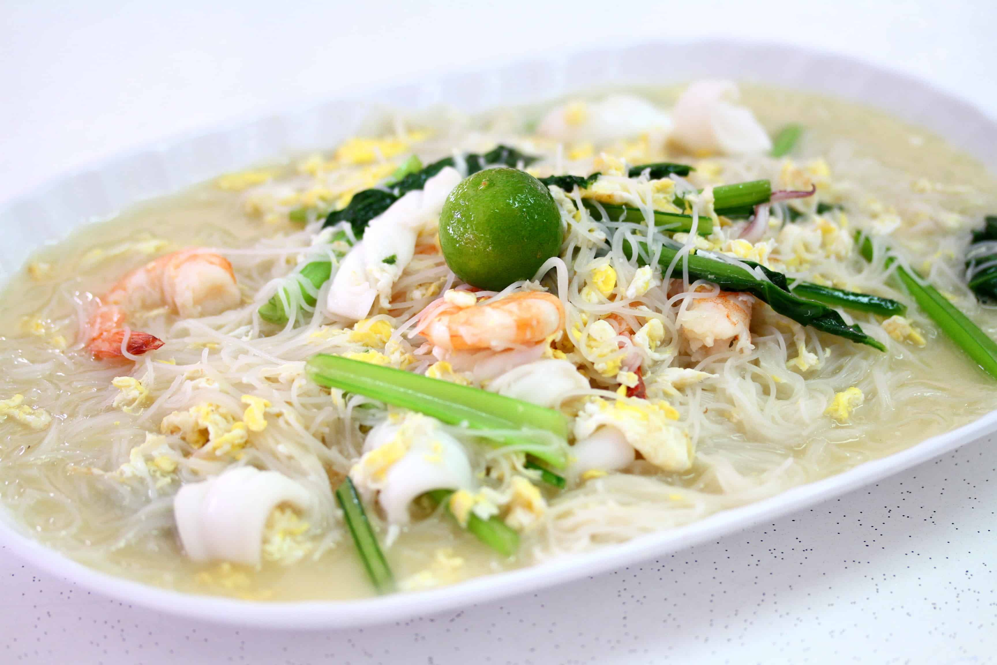 One of our famed local dishes - Sembawang White Beehoon