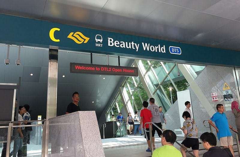 Beauty World (DT5) MRT Station