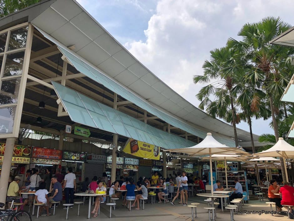 Explore more hawker food options at Serangoon Garden Food Centre