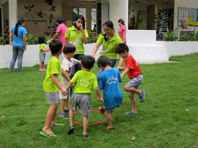 Group activities at Safari House Preschool River Valley