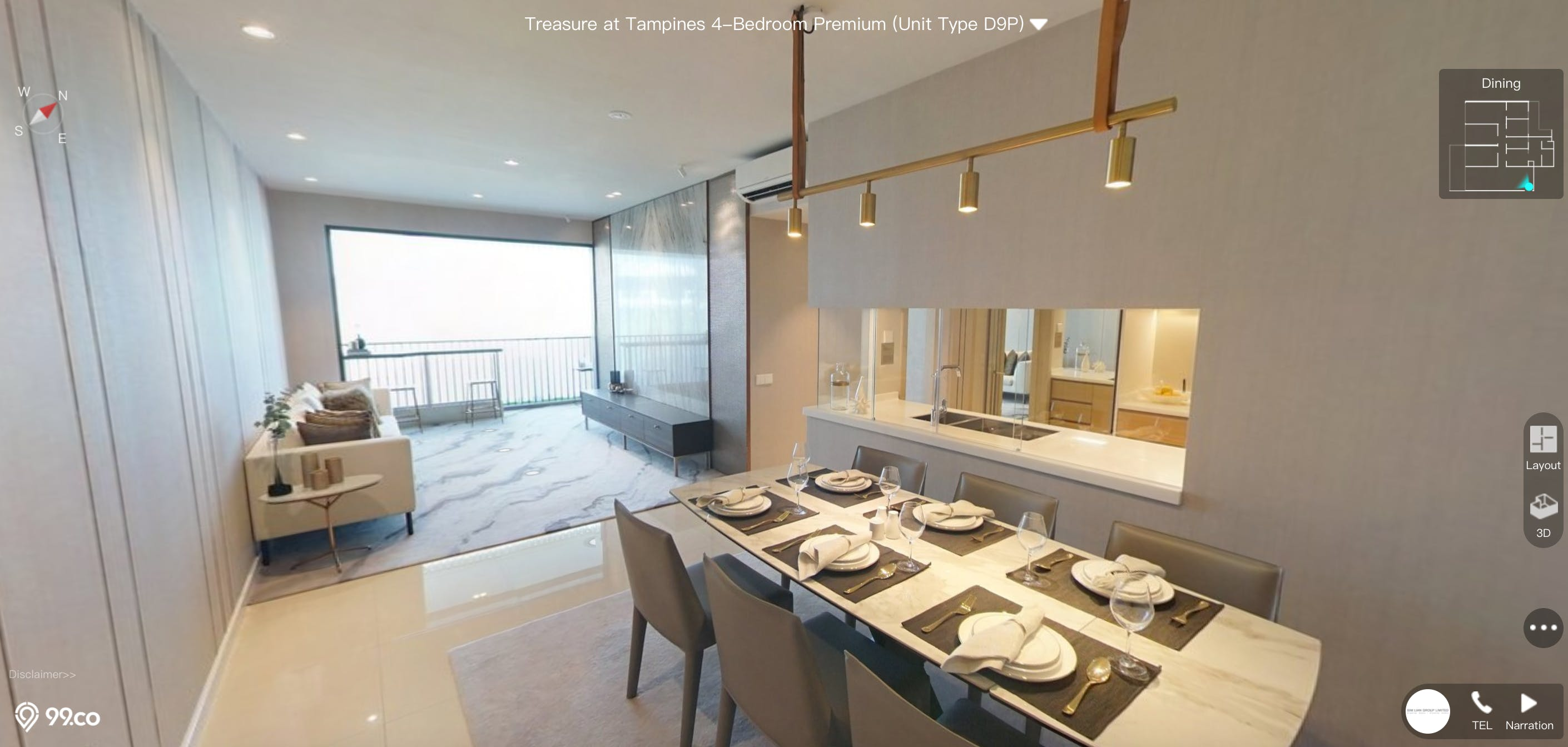 Treasure at Tampines 4 Bedroom Premium