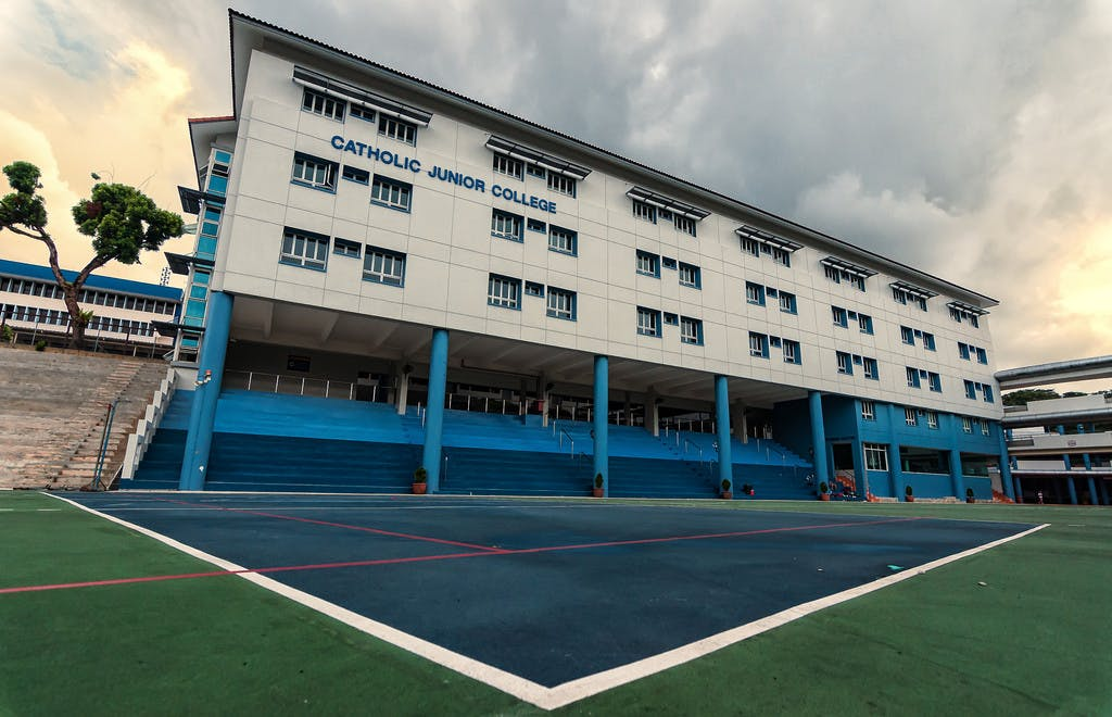 Catholic Junior College is one of the schools that residents of Perfect Ten magazine can go to
