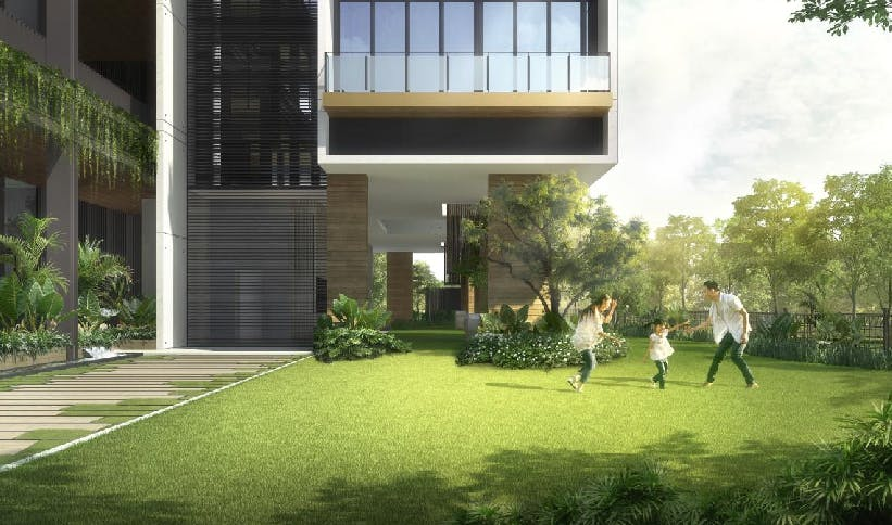 Sloane Residences is surrounded by lush greenery for you to enjoy quality time with your family members.