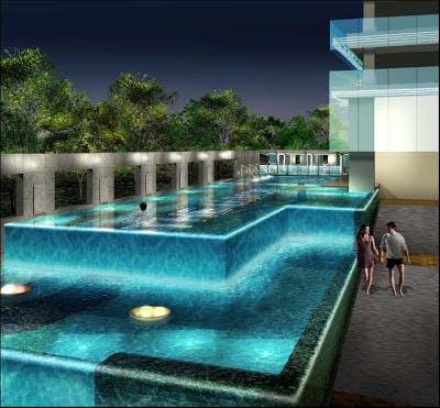 The Lumos swimming pool