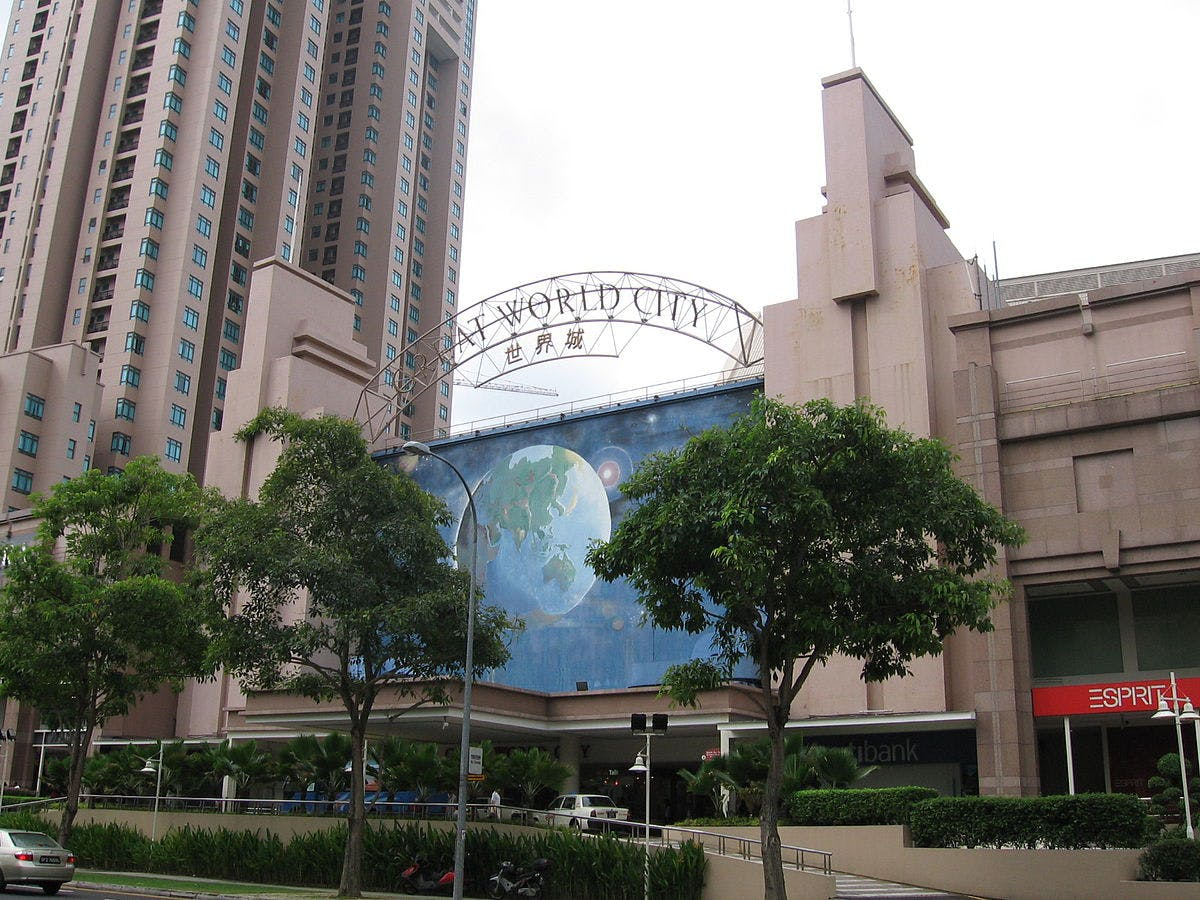 Great World City is only a few minutes away from 8 Saint Thomas