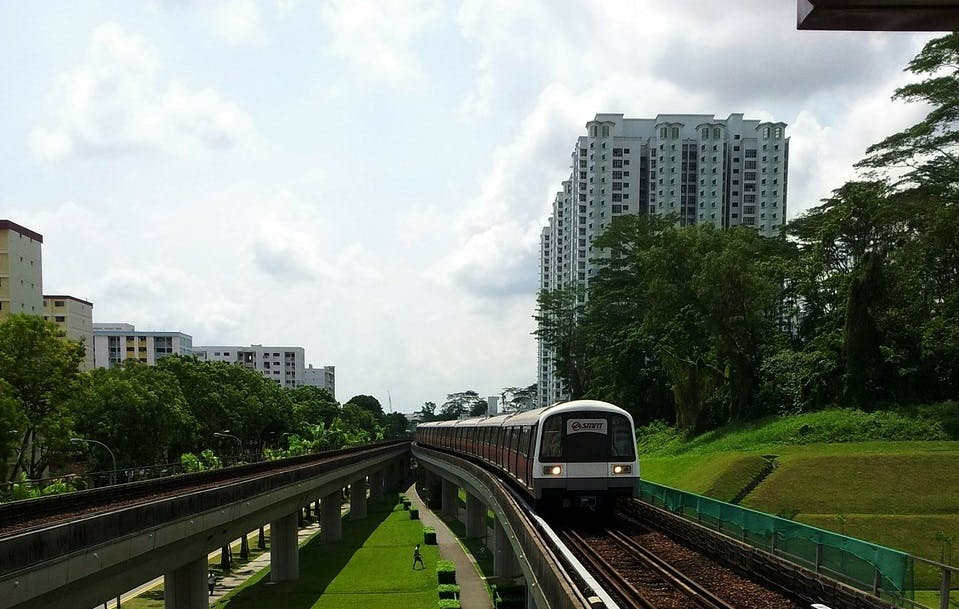 Singapore's lauded MRT public transport service