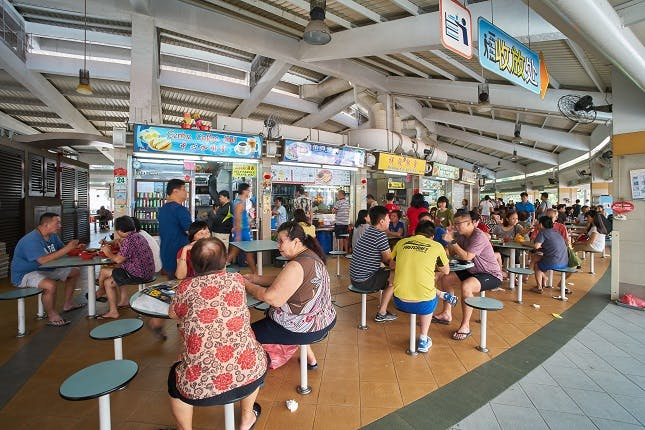 Tampines Round Market and Food Centre