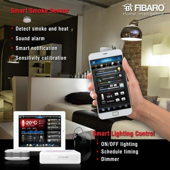 Smart-home technology by FIBARO