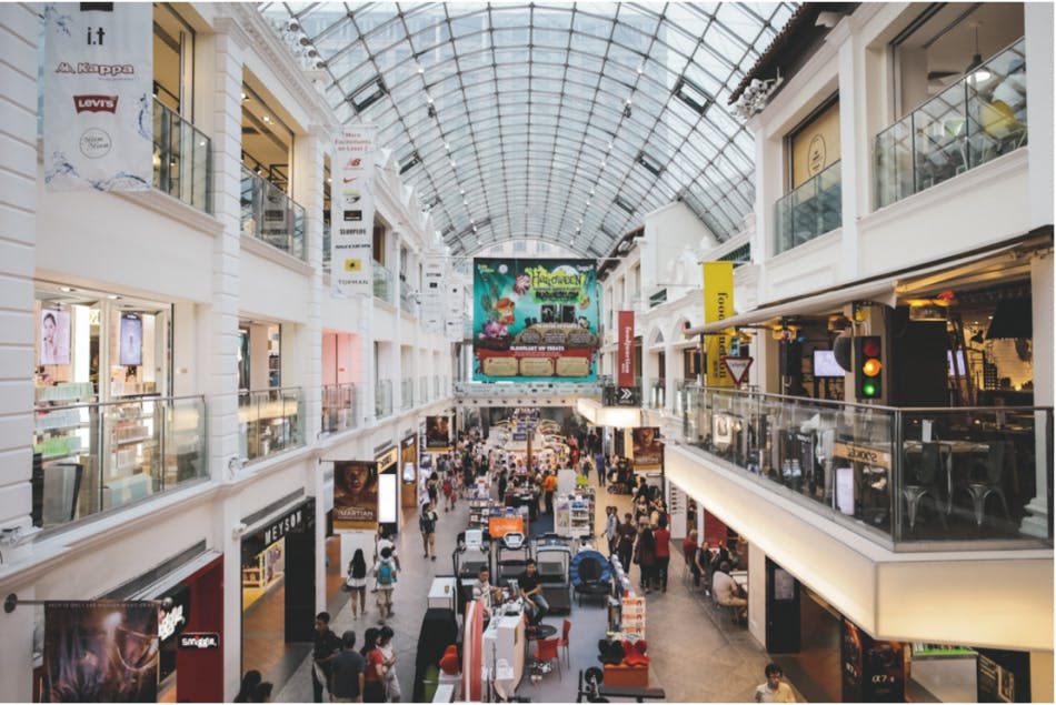 Bugis Junction may be the only large mall in Bugis but it has more than enough shops to satisfy your every need