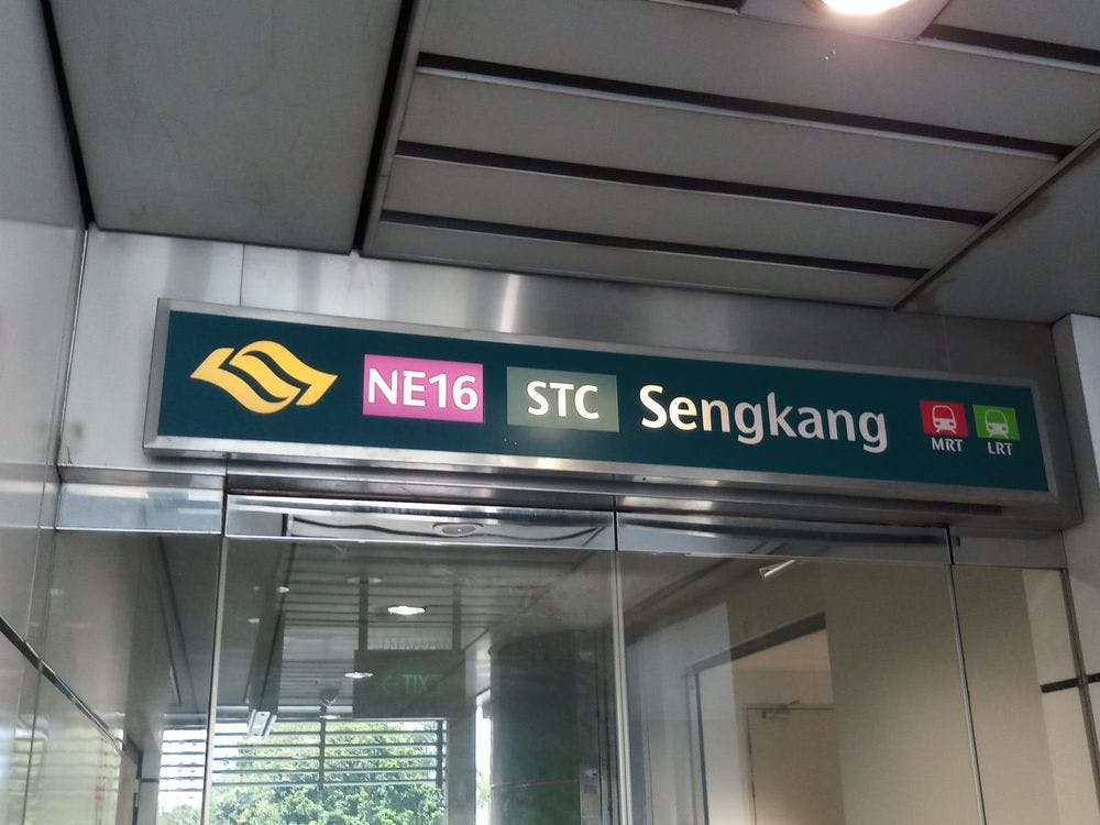 Sengkang MRT Station is a 10-minute walk away from Ola EC.