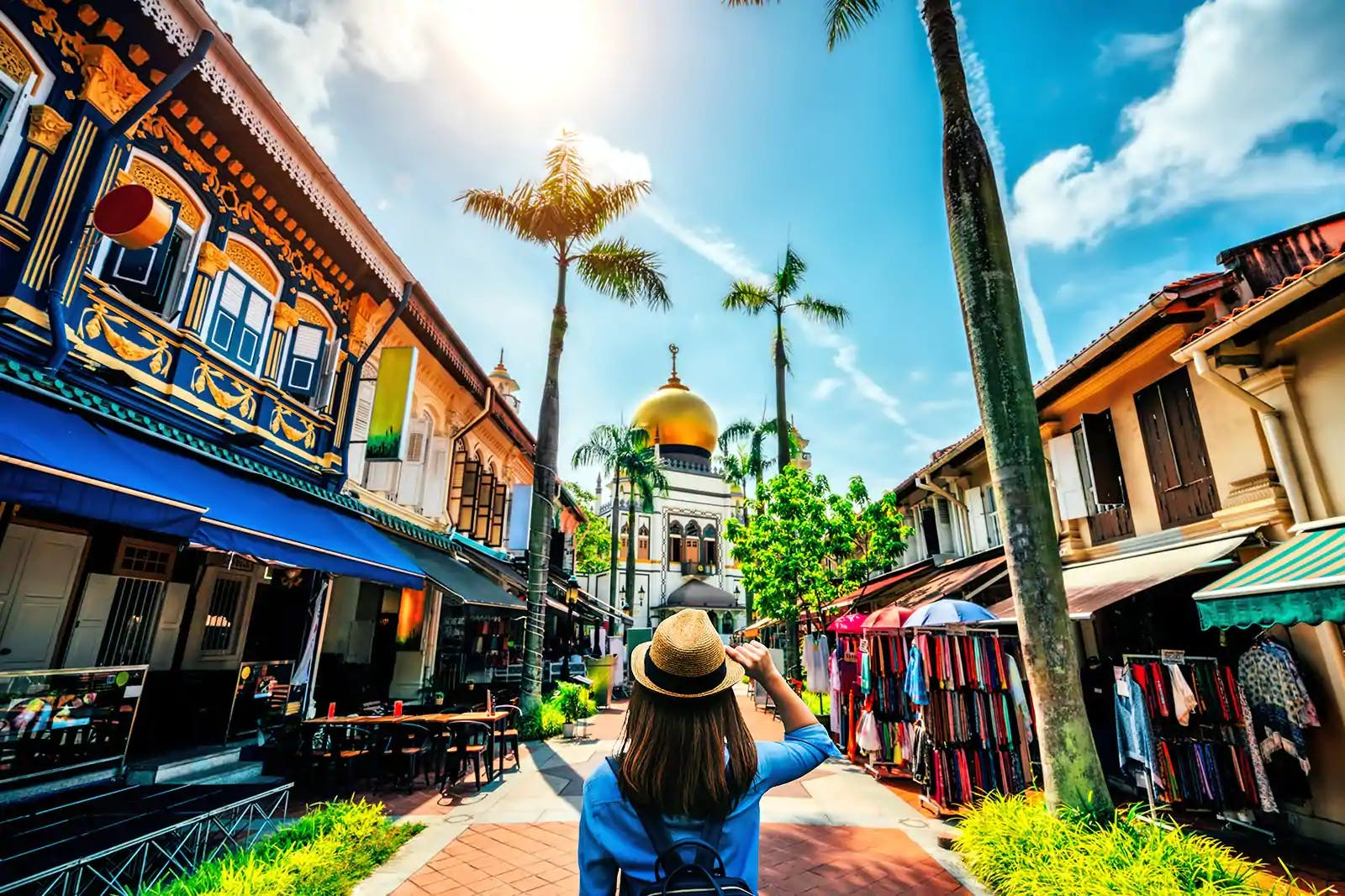 The vibrant Kapong Glam at Arab Street