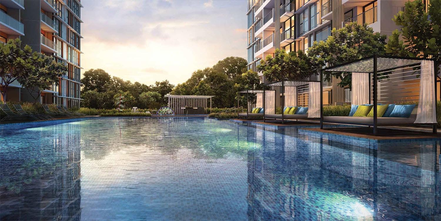 With a sprawling recreational space and beautiful swimming pool, Midtown Modern residents are assured that thier holistic wellbeing is a top priority when it comes to the design of condo amenities.