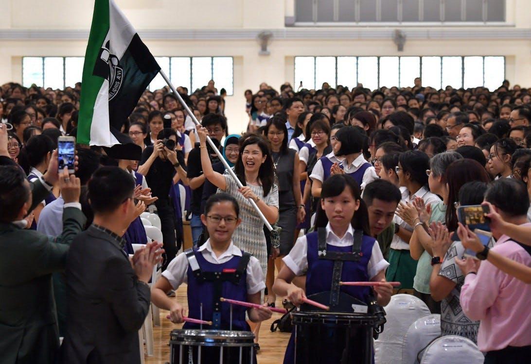 Raffles Girls' School new campus celebration