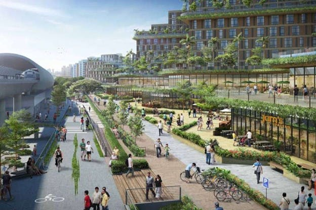 Once completed, Pasir Ris 8 residents can use the Central Greenway development which will feature elevated cycling and pedestrian paths that can connect to the Pasir Ris Park and Beach in under 10 minutes.
