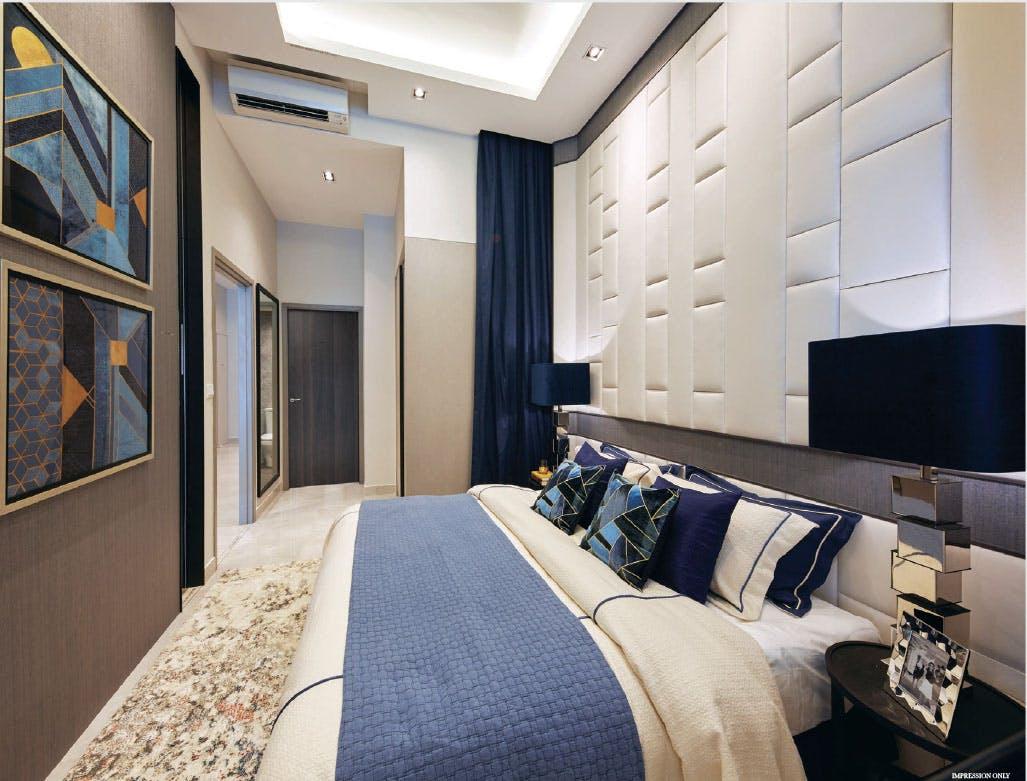 Sixteen 35 Residences condo master bedroom