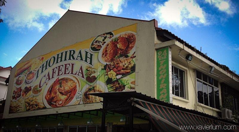 Thohirah Cafeela at Jalan Kayu