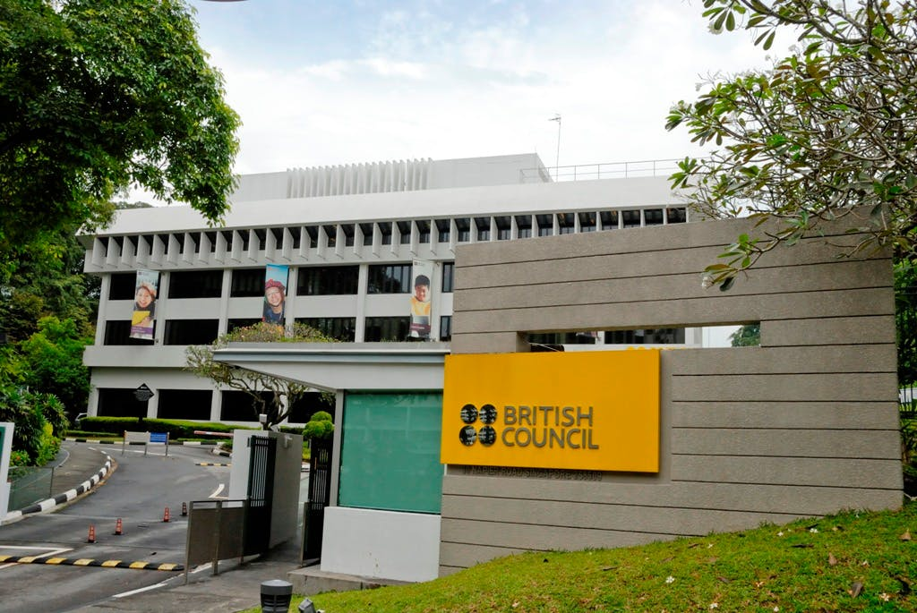The British Council at Napier Road, near Lucky Plaza