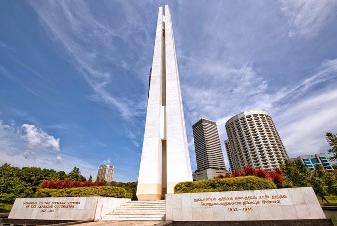 The War Memorial Park is an part of Singapore's rich history.