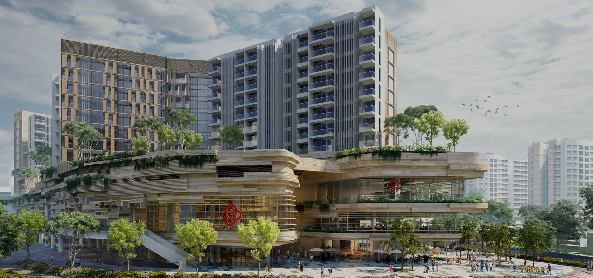 Sengkang Grand Residence, the integrated development at Buangkok