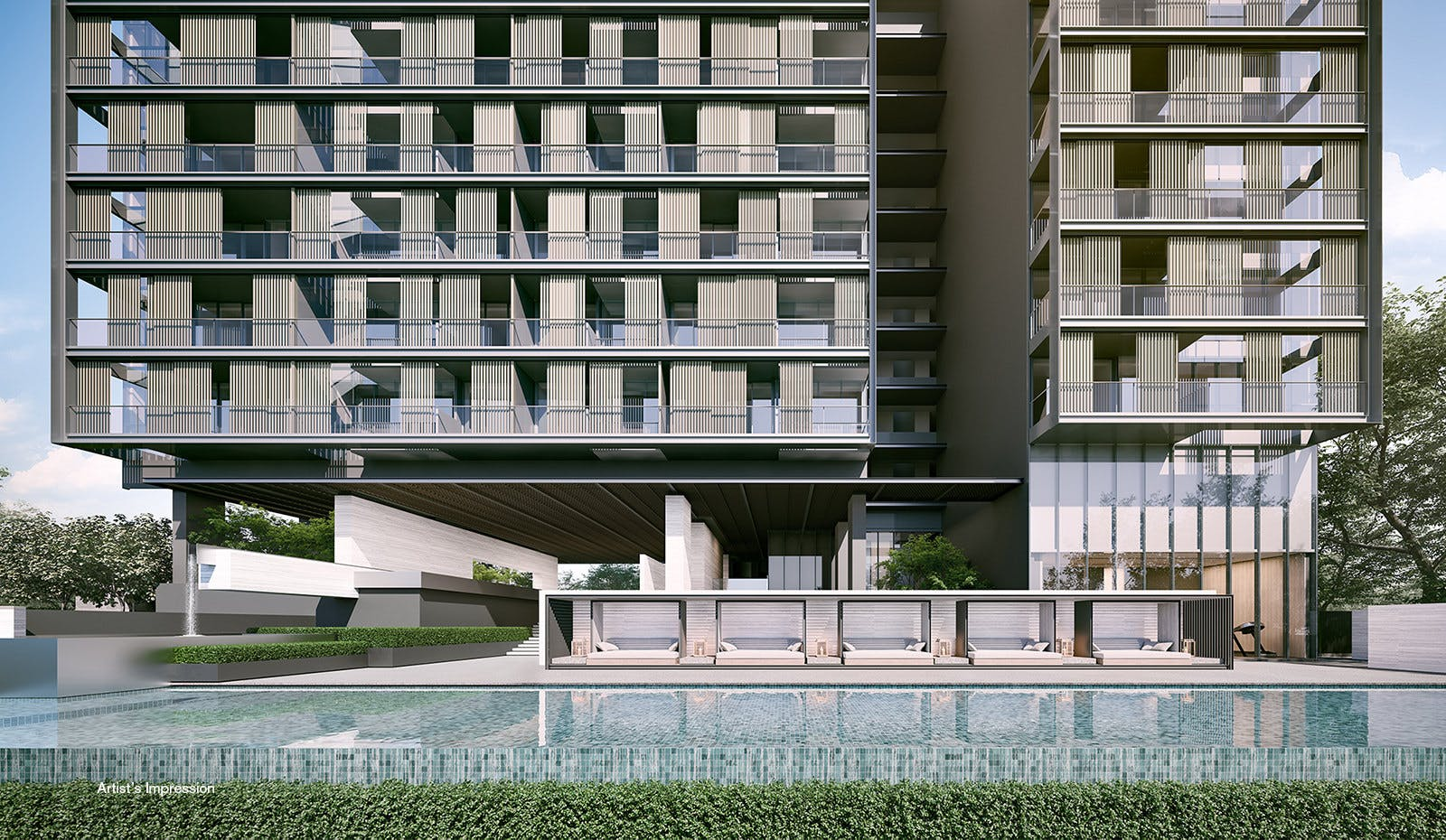 19 Nassim on Nassim Hill offers 101 apartments by Keppel Land.