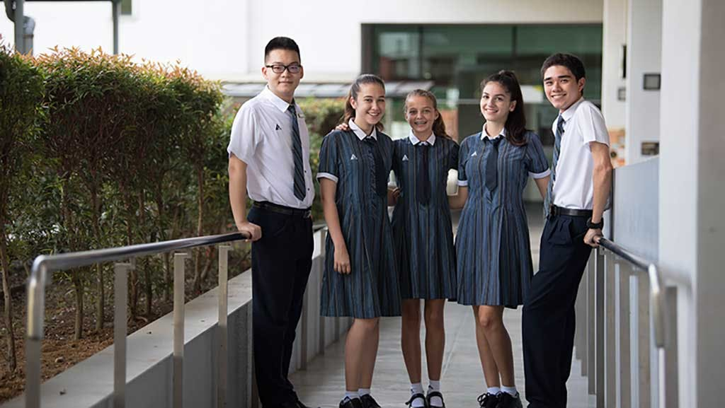 Students of Australian International School Singapore