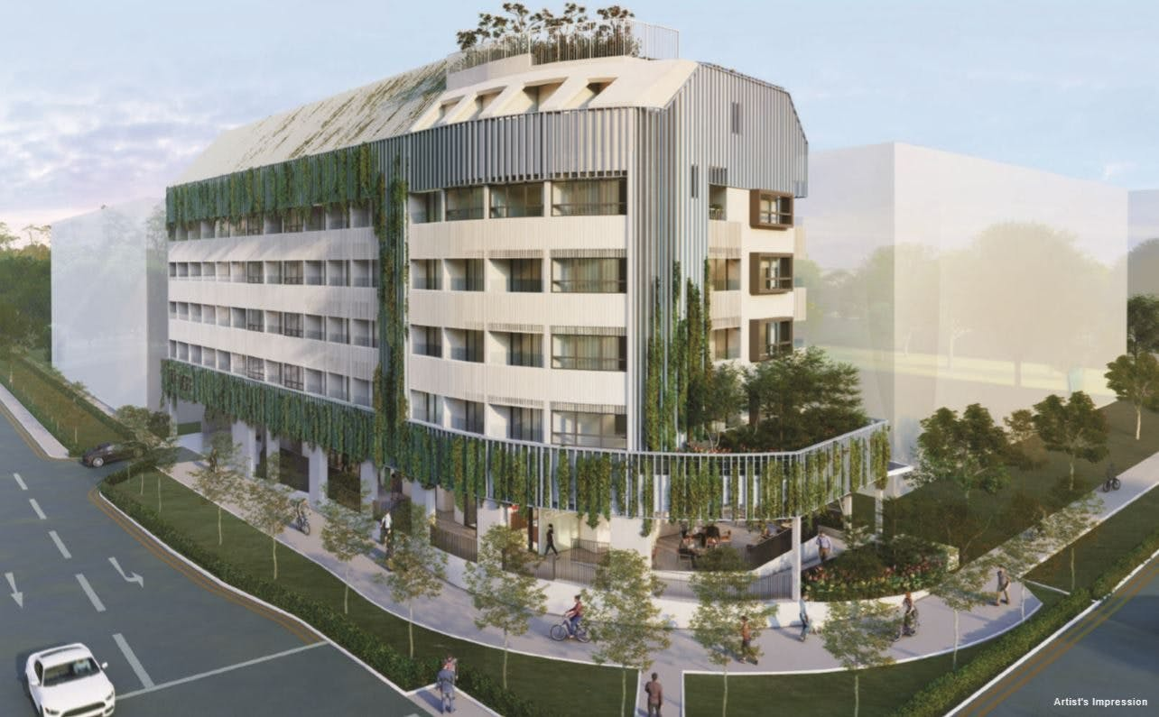 TEDGE at Telok Kurau Road is a freehold mixed development in the east of Singapore.
