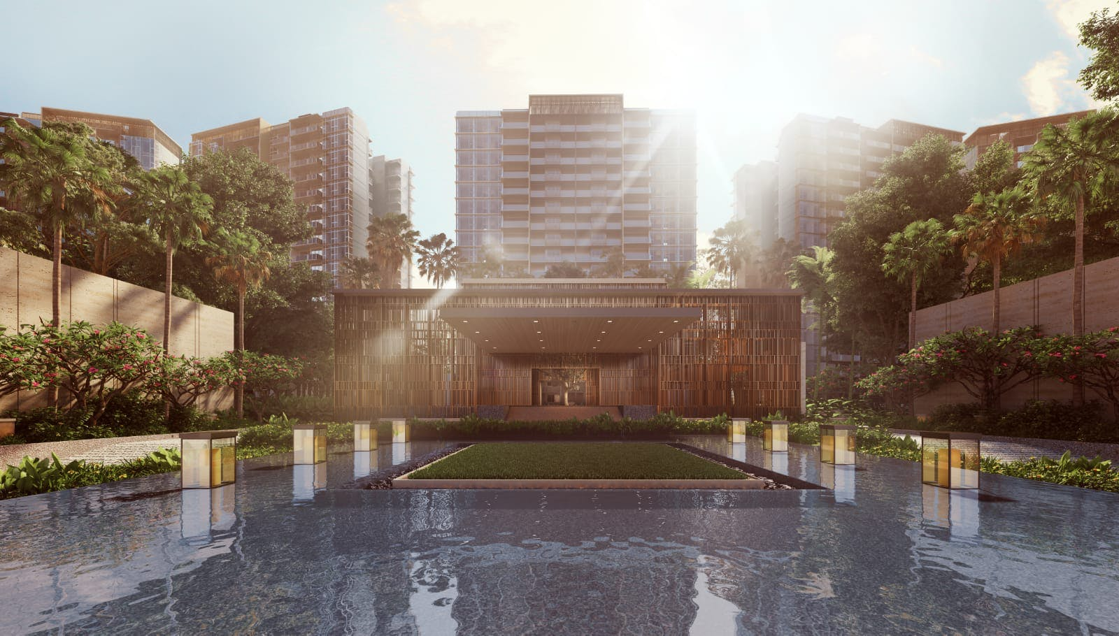 Artists' impression of Parc Esta