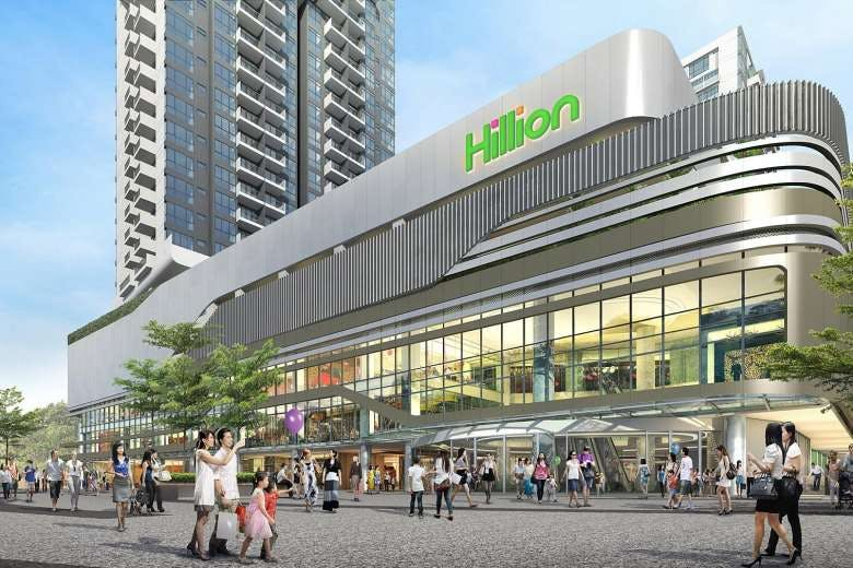 The relatively new Hillion Mall at Bukit Panjang is two stops away for residents of Dairy Farm Residences.