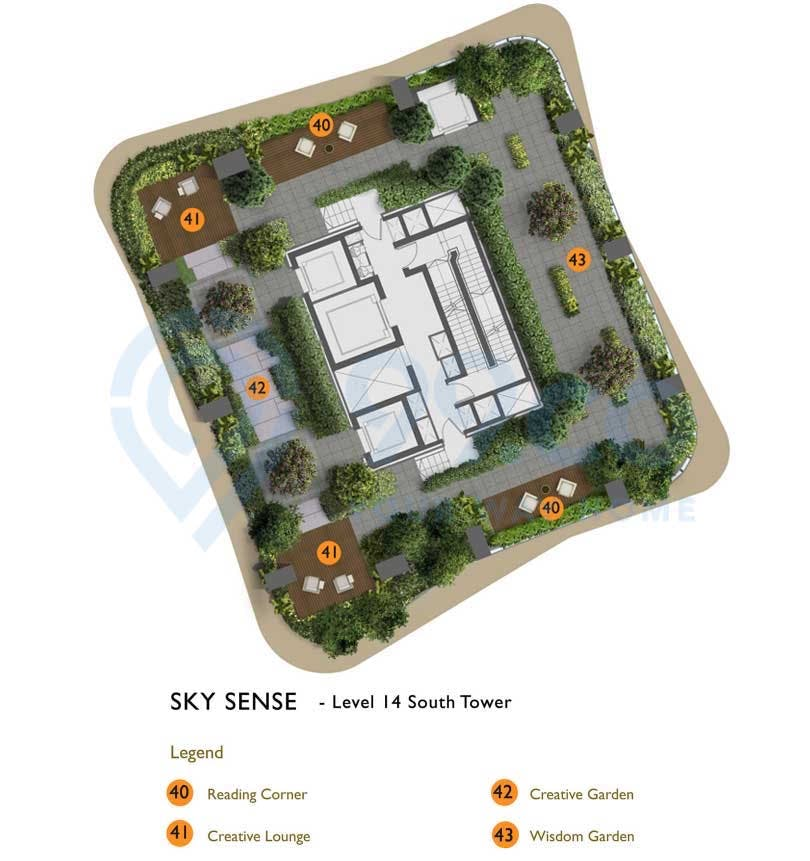 New Futura Level 10 South Tower Siteplan