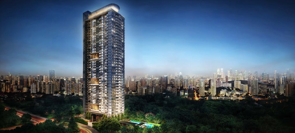 Go sky high with the attention-catching Alex Residences, including a beautiful sky pool.