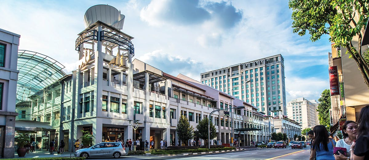 Bugis Junction is just a stone's throw away from Midtown Bay