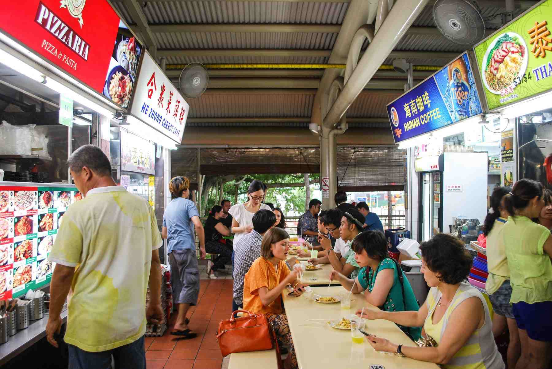 Bukit Timah Food Centre can satisfy any heartland craving, as well as fresh produce needs. 99.co.