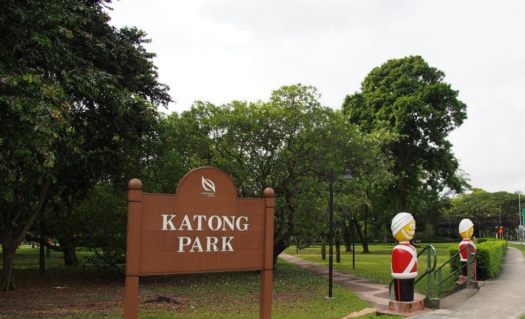 Katong Park - one of Singapore's oldest parks, is fantastic for family bonding moments.