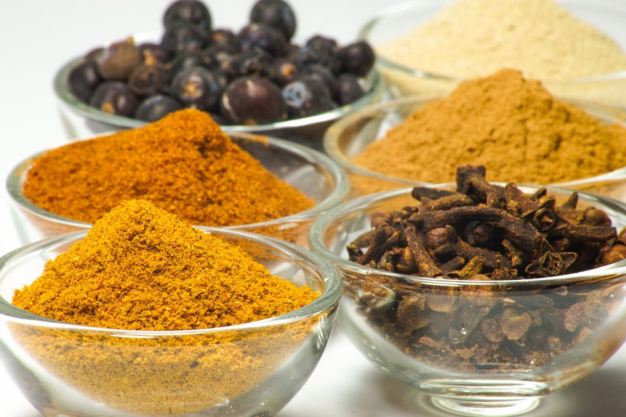 Spices that can be found at Joo Chiat Complex