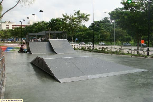 Bishan Harmony Park for all skateboarding enthusiats
