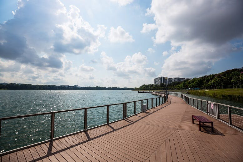 Soak up the sun at Bedok reservoir which offers a plethora of water sports options for you to choose from