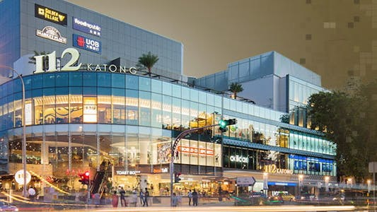 I12 Katong, one of the many shopping and dining places within Infini at East Coast's vicinity