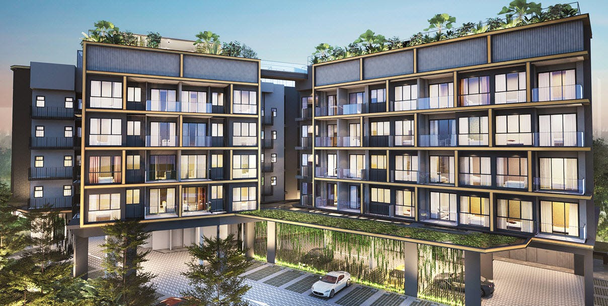 A beautifully modern freehold development, The Navian will attend to the most luxurious need.