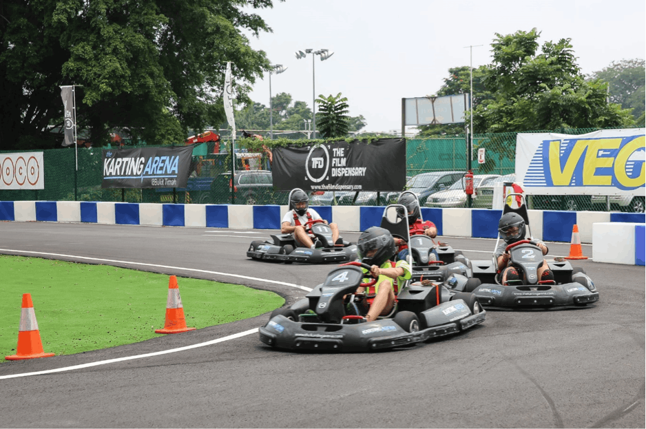Go-Kart course at Karting Arena