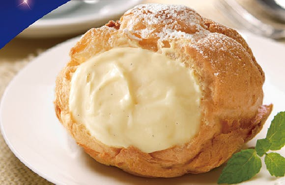 Bread Papa's cream puffs can be found at Compass One mall