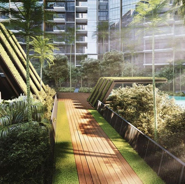 Dunman Residences is designed with your holistic well-being as top priority, which inlcudes plenty of lush green spaces to evoke the sense of privacy and tranquillity.