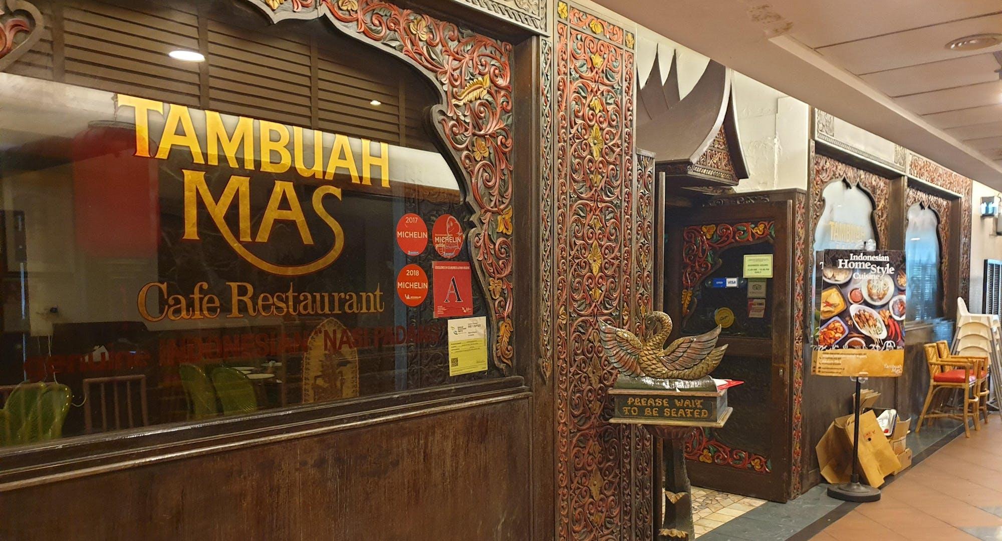 Indonesian restaurant Tambuah Mas