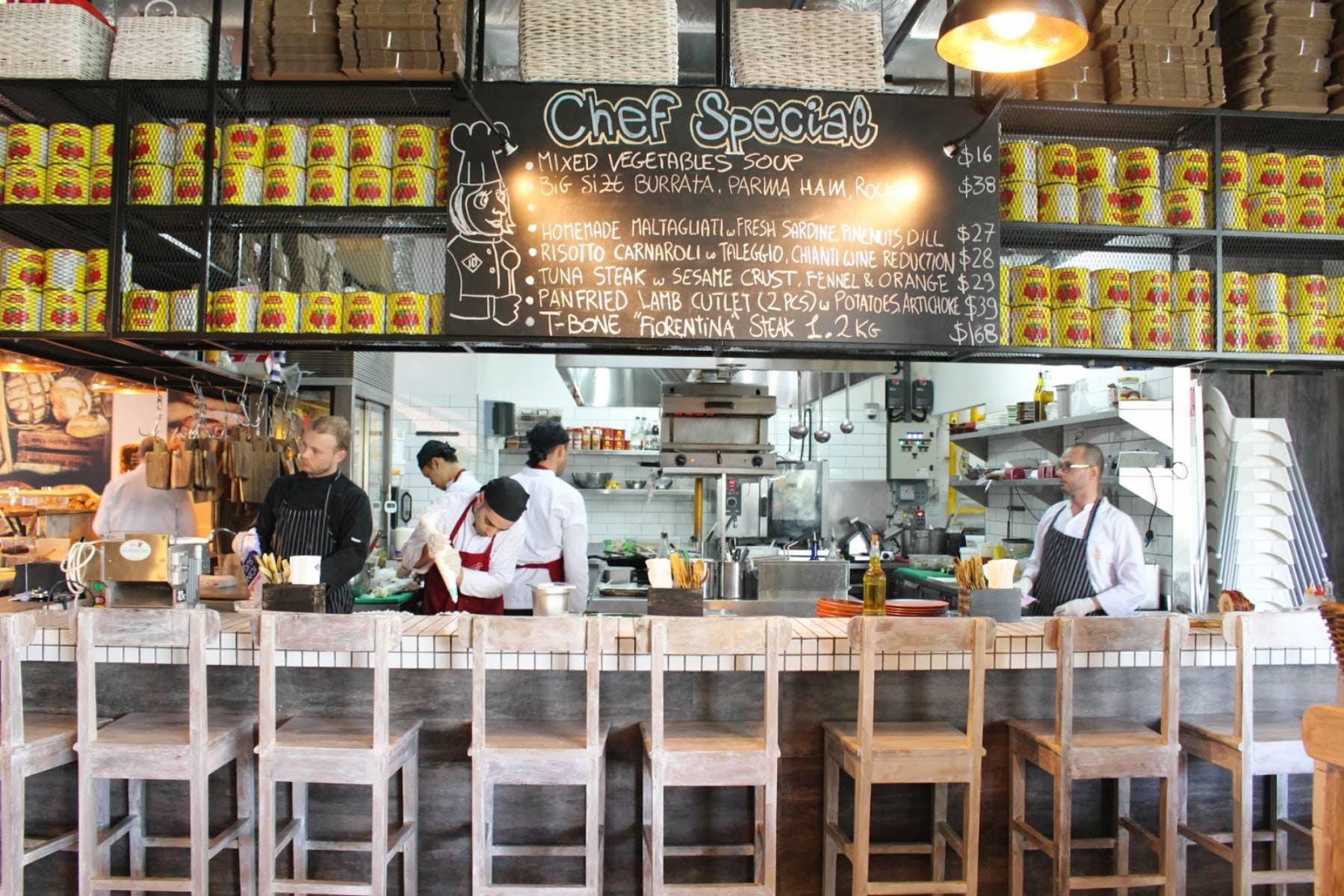 iO Italian Osteria Singapore