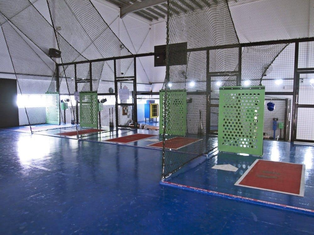 Singapore's first indoor batting cage at Pandan Gardens