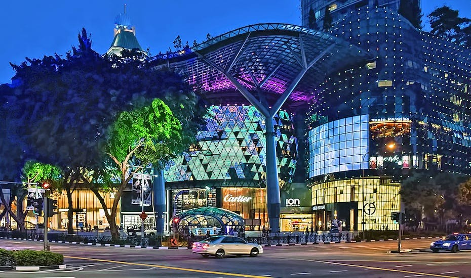 Ion Orchard at Orchard Road just a short 10 minute drive away