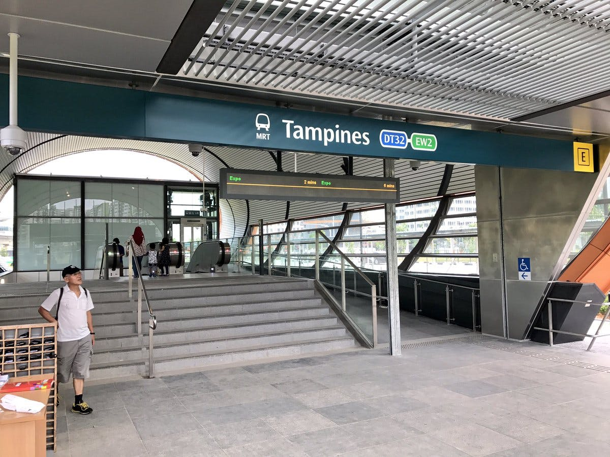 Tampines MRT Station